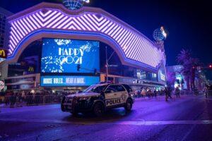 NYE Las Vegas Strip